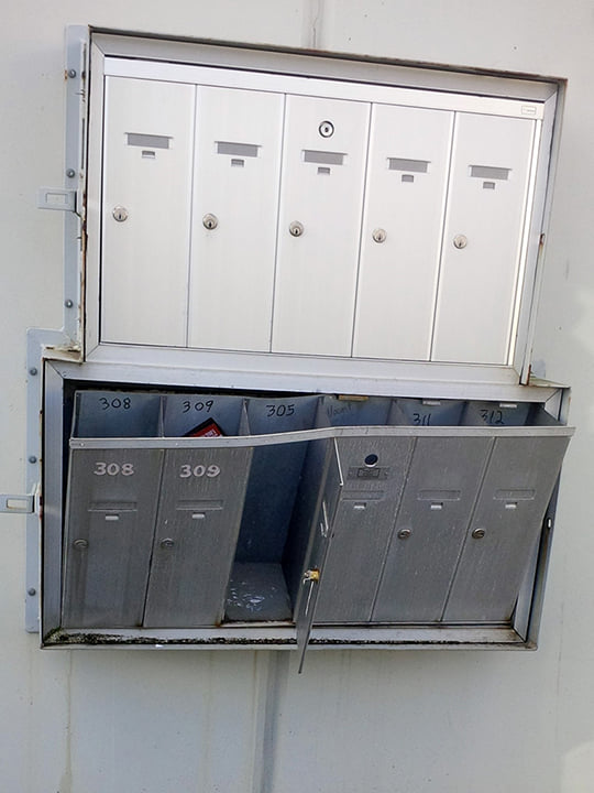 Postal Mailbox Rs Lock Amp Security